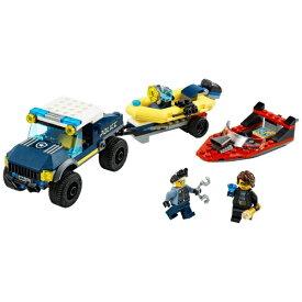 レゴジャパン LEGO LEGO(レゴ) 60272 シティ エリートポリス ボートでの護送【発売日以降のお届け】