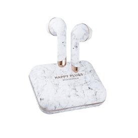 HAPPYPLUGS ハッピープラグス フルワイヤレスイヤホン AIR1PLUS-EARBUD-WHITE-MARBLE ホワイトマーブル [リモコン・マイク対応 /ワイヤレス(左右分離) /Bluetooth]