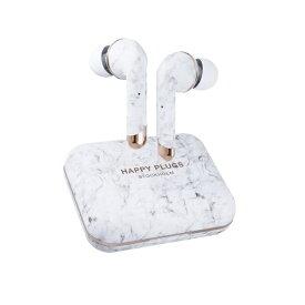 HAPPYPLUGS ハッピープラグス フルワイヤレスイヤホン AIR1PLUS-IN-EAR-WHITE-MARBLE ホワイトマーブル [リモコン・マイク対応 /ワイヤレス(左右分離) /Bluetooth]
