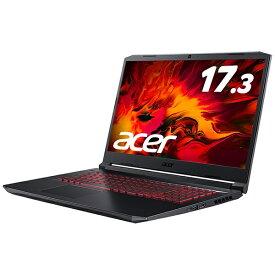 ACER エイサー AN517-52-A76Y5T ゲーミングノートパソコン Nitro 5 オブシディアンブラック [17.3型 /intel Core i7 /SSD:512GB /メモリ:16GB /2020年7月モデル]