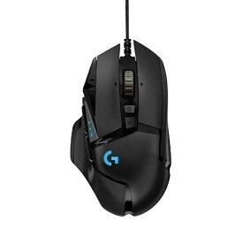 ロジクール Logicool G502RGBhr ゲーミングマウス G502 HERO ブラック [光学式 /11ボタン /USB /有線]