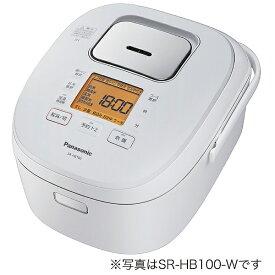 パナソニック Panasonic 炊飯器 ホワイト SR-HB180-W [IH /1升]
