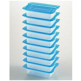 ヨシカワ yoshikawa 便利な一人分冷凍パック 10個入 ブルー 24566