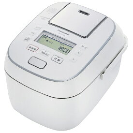 パナソニック Panasonic 炊飯器 ホワイト SR-STS100-W [IH /5.5合]