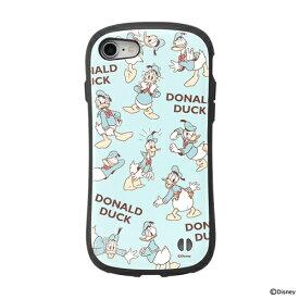 HAMEE ハミィ [iPhone SE 2020/8/7専用]ディズニーキャラクターiFace First Classケース 41-878149 ドナルドダック/総柄