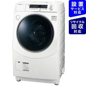 シャープ SHARP ES-H10E-WR ドラム式洗濯乾燥機 ホワイト系 [洗濯10.0kg /乾燥6.0kg /ヒーター乾燥(水冷・除湿タイプ) /右開き][洗濯機 10kg]