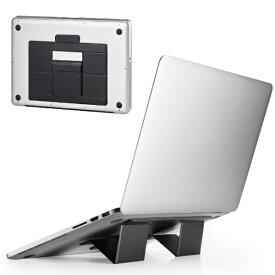 エレコム ELECOM ノートパソコンスタンド[14〜15.6インチ] 折りたたみ 装着式 薄型 Lサイズ ブラック PCA-LTSFSLBK