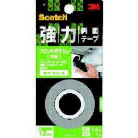 3Mジャパン スリーエムジャパン 3M スコッチ 強力両面テープ フロントガラス用 12mm×1.5m KCW-12