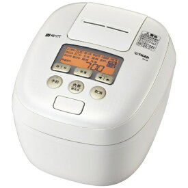 タイガー TIGER JPC-H100-WS 炊飯器 炊きたて シルキーホワイト [5.5合 /圧力IH][JPCH100]