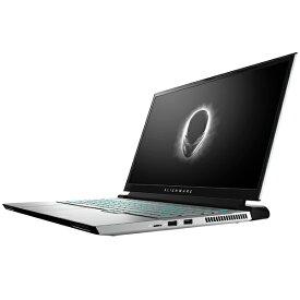 DELL デル ゲーミングノートパソコン ALIENWARE M17 R3LEDライト付 ルナライト(シルバーホワイト) NAM97VR-ANLW [17.3型 /intel Core i7 /SSD:1TB /メモリ:32GB /2020年夏モデル]