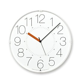 タカタレムノス Lemnos カラ ホワイト(オレンジ針) ホワイト AWA13-08WH-O [電波自動受信機能有]