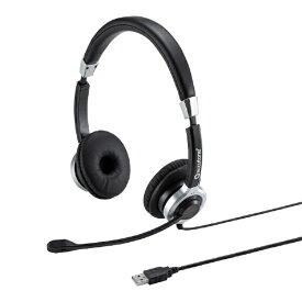 サンワサプライ SANWA SUPPLY MM-HSU15ANC ヘッドセット [USB /両耳 /ヘッドバンドタイプ]