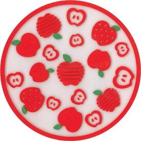丸栄日産 MARUE NISSAN フルーツコースター ラウンドアップル JD1500