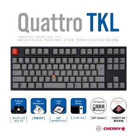 アーキサイト ARCHISITE AS-KBQ91/SRGBA キーボード CHERRY MX 静音赤軸 [USB /有線]