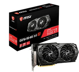 MSI エムエスアイ グラフィックボード Radeon RX 5600 XT GAMING MX [6GB /Radeon RXシリーズ]