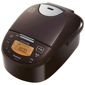 パナソニック Panasonic 炊飯器 ブラウン SR-FD100-T [IH /5.5合]