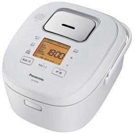 パナソニック Panasonic 炊飯器 ホワイト SR-HB100-W [IH /5.5合]