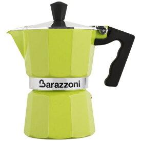Barazzoni バラゾーニ 直火用 エスプレッソコーヒーメーカー3カップ LA CAFFETTIERA ALLUMINIO E COLORATA 83000550343