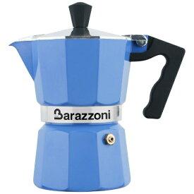 Barazzoni バラゾーニ 直火用 エスプレッソコーヒーメーカー3カップ LA CAFFETTIERA ALLUMINIO E COLORATA 83000550357