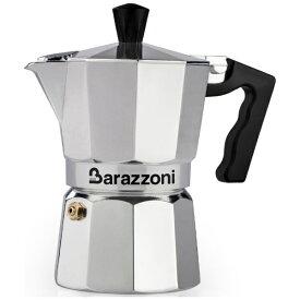 Barazzoni バラゾーニ 直火用 エスプレッソコーヒーメーカー1カップ LA CAFFETTIERA ALLUMINIO E COLORATA 830005501