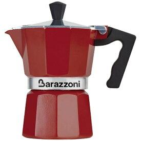 Barazzoni バラゾーニ 直火用 エスプレッソコーヒーメーカー3カップ LA CAFFETTIERA ALLUMINIO E COLORATA 83000550330
