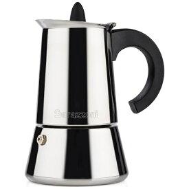 Barazzoni バラゾーニ IH エスプレッソコーヒーメーカー6カップ LA CAFFETTIERA INOX 830008006