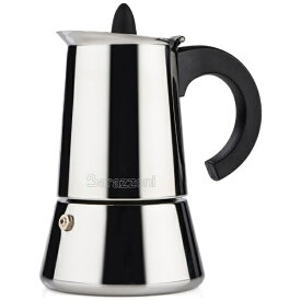 Barazzoni バラゾーニ IH エスプレッソコーヒーメーカー4カップ LA CAFFETTIERA INOX 830008004