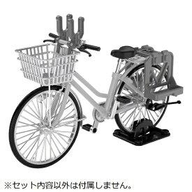 トミーテック TOMY TEC 1/12 LittleArmory [LM006] 通学自転車(指定防衛校用)シルバー