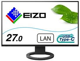 【2020年08月28日発売】 EIZO エイゾー EV2795-BK USB-C接続 PCモニター FlexScan ブラック [27型 /ワイド /WQHD(2560×1440)]
