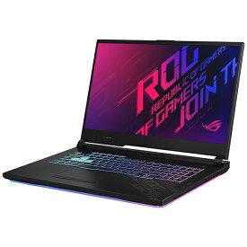 ASUS エイスース G712LV-I7R2060 ゲーミングノートパソコン ROG Strix G17 ブラック [17.3型 /intel Core i7 /SSD:512GB /メモリ:16GB /2020年7月モデル]