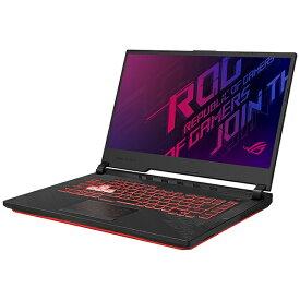 ASUS エイスース G512LI-I5G1650T ゲーミングノートパソコン ROG Strix G15 ブラック [15.6型 /intel Core i5 /SSD:512GB /メモリ:8GB /2020年7月モデル]