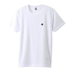 チャンピオン CHAMPION メンズ メッシュクルーネックTシャツ(Lサイズ/ホワイト) CM1HH301