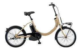 パナソニック Panasonic 電動アシスト自転車 SW デザートイエロー BE-ELSW012Y [変速無し /20インチ]【組立商品につき返品不可】 【代金引換配送不可】