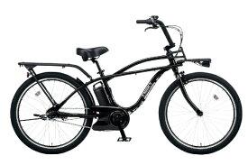 パナソニック Panasonic 26型 電動アシスト自転車 BP02(ジェットブラック/内装3段変速) BE-ELZC632AB【2020年モデル】【組立商品につき返品不可】 【代金引換配送不可】