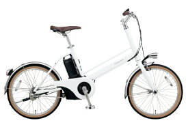 パナソニック Panasonic 20型 電動アシスト自転車 Jコンセプト(クリスタルホワイト/シングルシフト) BE-JELJ012AF【2020年モデル】【組立商品につき返品不可】 【代金引換配送不可】