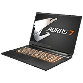 GIGABYTE ギガバイト AORUS7MB-7JP1130SH ゲーミングノートパソコン AORUS 7 [17.3型 /intel Core i7 /SSD:512GB /メモリ:16GB /2020年7月モデル]