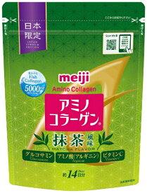 明治 meiji アミノコラーゲン 抹茶風味 98g アミノコラーゲン