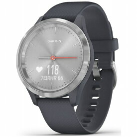 GARMIN ガーミン vivomove 3S Granite Blue / Silver【Suica対応】 010-02238-70[100223870]