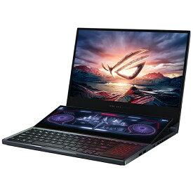 ASUS エイスース ゲーミングノートパソコン ROG Zephyrus Duo 15(4K) グレー GX550LXS-I9R2080S [15.6型 /intel Core i9 /SSD:2TB /メモリ:32GB /2020年8月モデル]