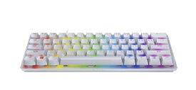 RAZER レイザー RZ03-03390300-R3M1 ゲーミングキーボード Huntsman Mini(英語配列) Mercuryホワイト [USB /有線]