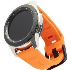 UAG URBAN ARMOR GEAR UAG社製 Galaxy Watchバンド GalaxyWatch 46mm用 SCOUTシリーズ(オレンジ) UAG-RGWLS-OR