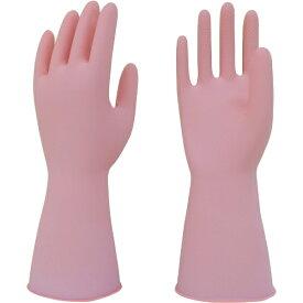 東和コーポレーション TOWA CORPORATION トワロン 天然ゴム手袋うす手 ピンク S 217-S