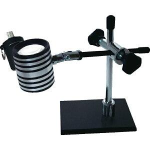 京葉光器 Keiyo Magnifier リーフ LEDライト付スタンドルーペ 16x STA-16S/LED