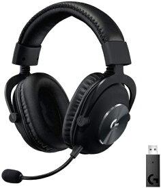 ロジクール Logicool G-PHS-004WL ゲーミングヘッドセット G PRO X Wireless LIGHTSPEED ブラック [ワイヤレス(USB) /両耳 /ヘッドバンドタイプ]
