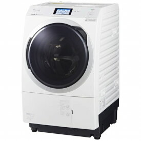 パナソニック Panasonic NA-VX900BL-W ドラム式洗濯乾燥機 VXシリーズ クリスタルホワイト [洗濯11.0kg /乾燥6.0kg /ヒートポンプ乾燥 /左開き][洗濯機 11kg]