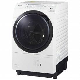 パナソニック Panasonic ドラム式洗濯乾燥機 VXシリーズ クリスタルホワイト NA-VX700BL-W [洗濯10.0kg /乾燥6.0kg /ヒートポンプ乾燥 /左開き][洗濯機 10kg]