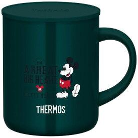 【2020年09月01日発売】 サーモス THERMOS 真空断熱マグカップ サーモス ダークグリーン JDG-350DS