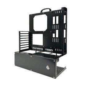 長尾製作所 NAGAO INDUSTRY PCケース オープンフレーム ver.E-ATX ブラック N-FRAME-EATX