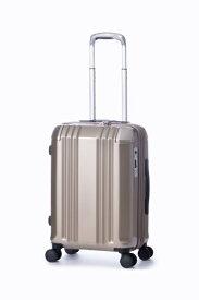 A.L.I アジア・ラゲージ スーツケース ハードキャリー 34L(40L) デカかるEdge シャンパンゴールド ALI-008-18W [TSAロック搭載]