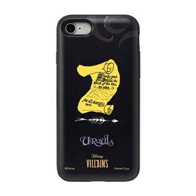 HAMEE ハミィ [iPhone SE 2020/8/7専用]ディズニーキャラクター Latootoo カード収納型 ミラー付きiPhoneケース 599-917-918456 ヴィランズ/アースラ